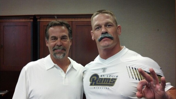 John Cena Amp Jeff Fisher Delight In Each Other S Facial