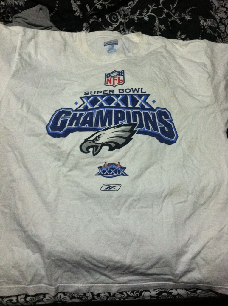 7ff02c1e6de Close Your Eyes Eagles Fans, A Super Bowl Champions T-Shirt Emerges ...