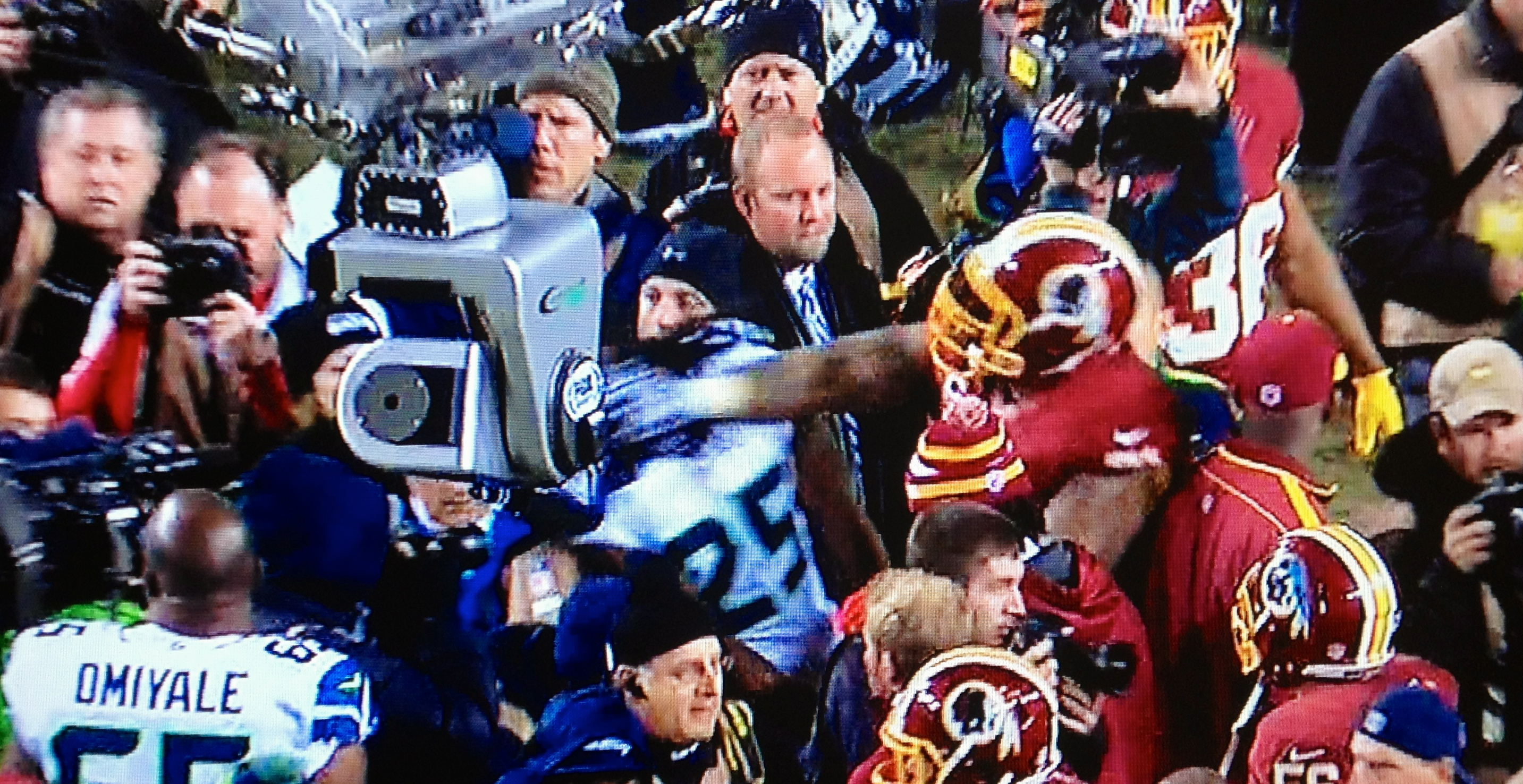 Trent Williams Tried To Slap The Taste Out Richard Sherman s