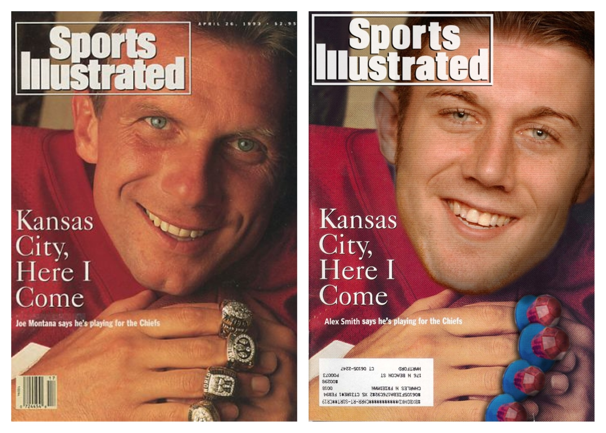 montanasmith welcome to kansas city, alex smith joe montana's right arm,Alex Smith Meme
