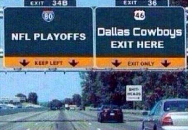 CowboysRoadSign