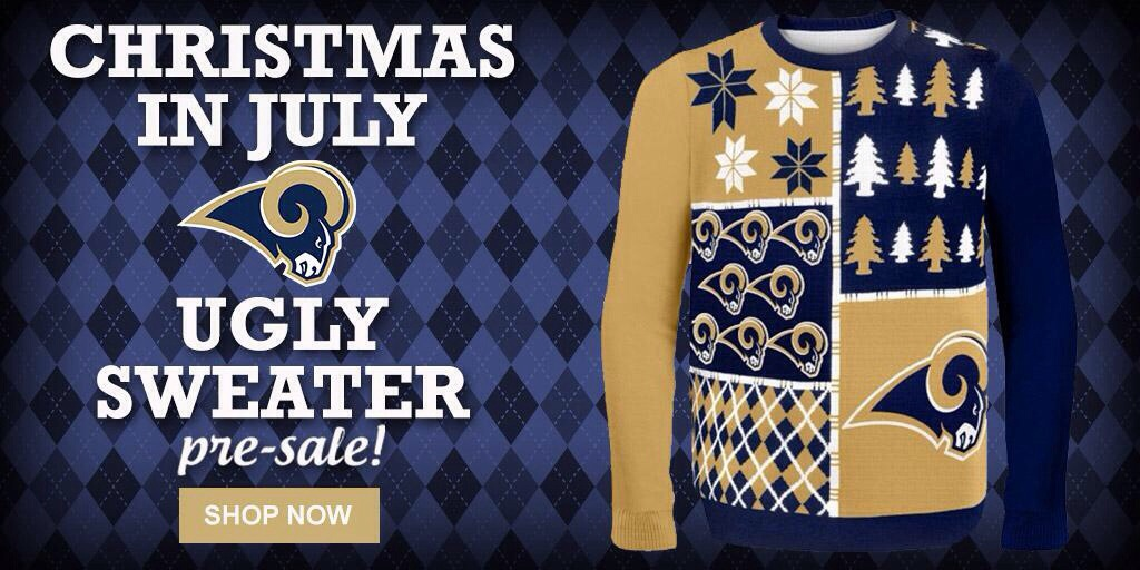 online store af042 74afd The St. Louis Rams Are Selling Ugly Christmas Sweaters – Joe ...