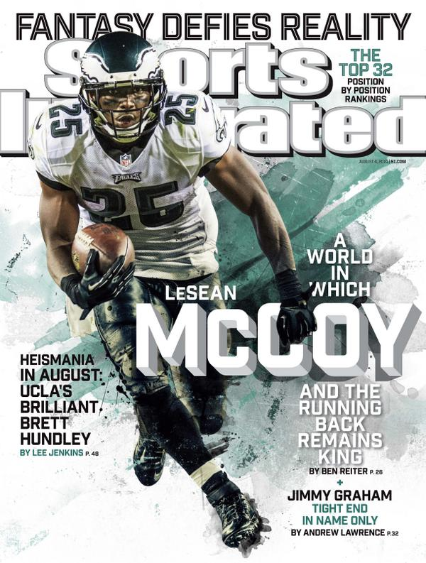 Eddie Lacy Sports Illustrated LeSean McCoy On Cover Of SI