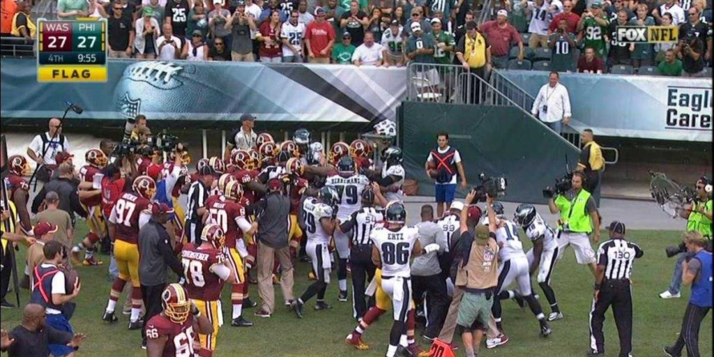 redskins-and-eagles-brawl