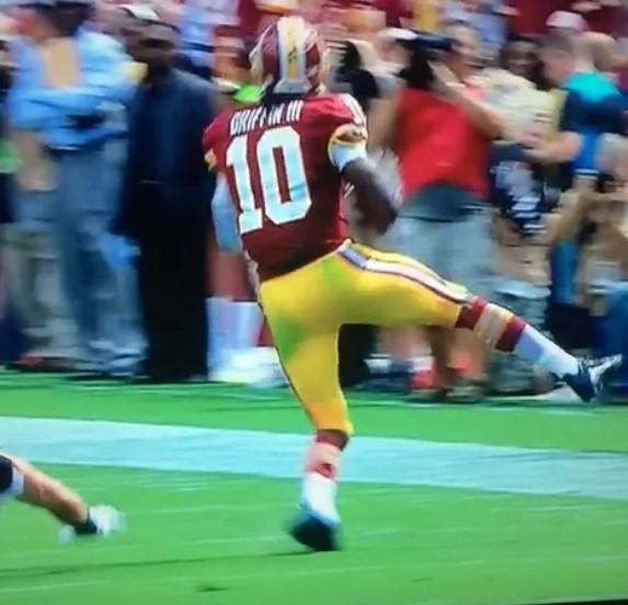 rgiii dislocates ankle  could be done for year