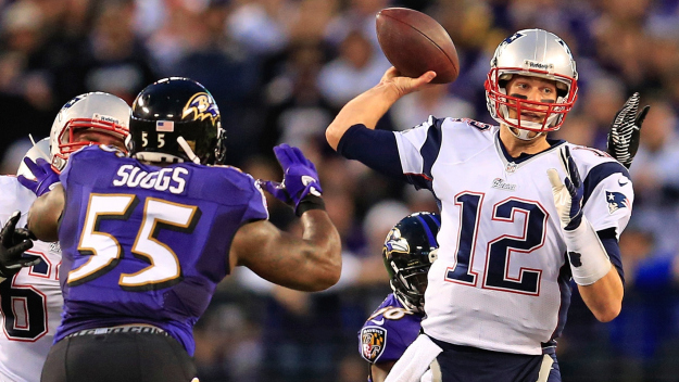 New England Patriots v Baltimore Ravens