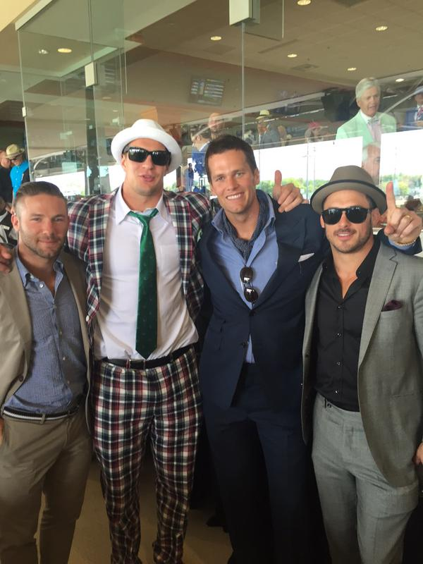 Rob Gronkowski Is The Best Dressed Man At The Kentucky