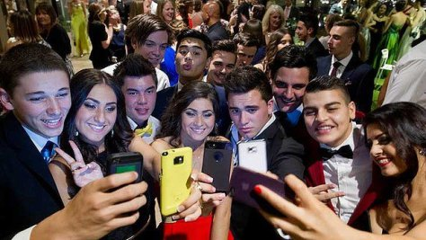 Image result for millennials with cell phones