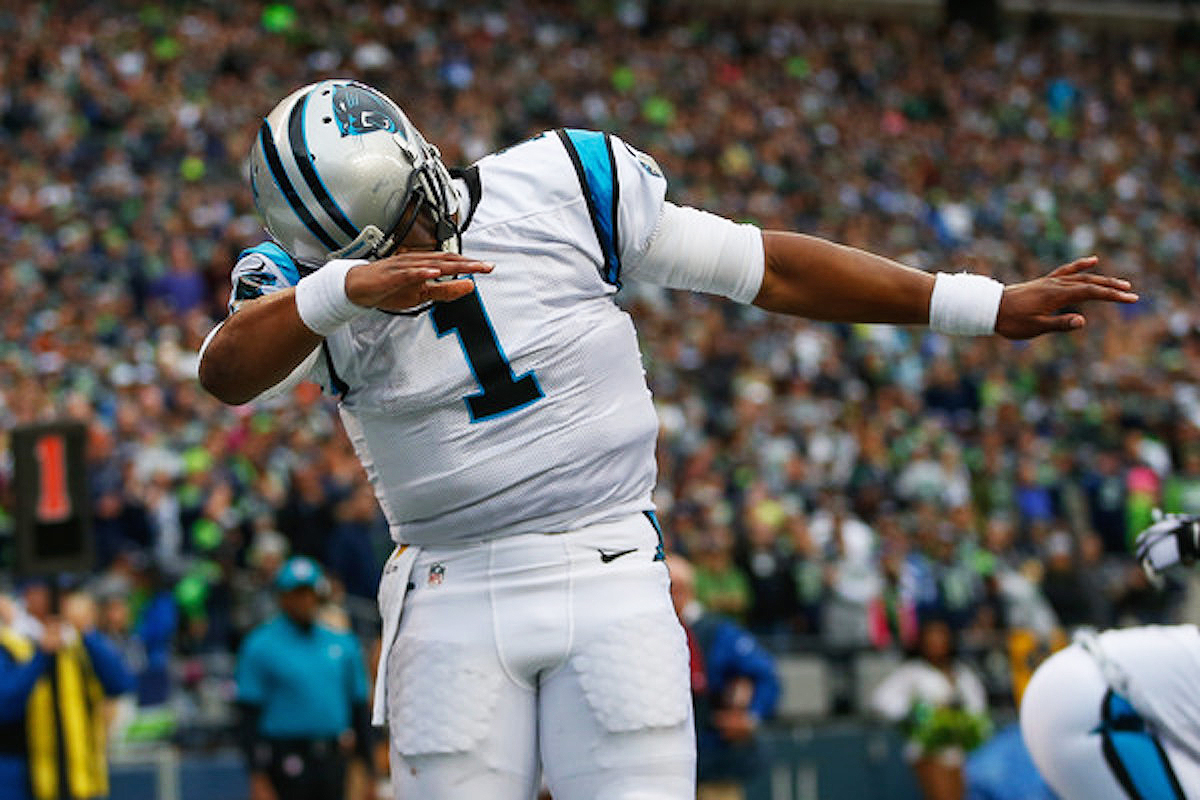 Cam Newton Earned Some Street Cred With His Dab Celebration – Joe ...