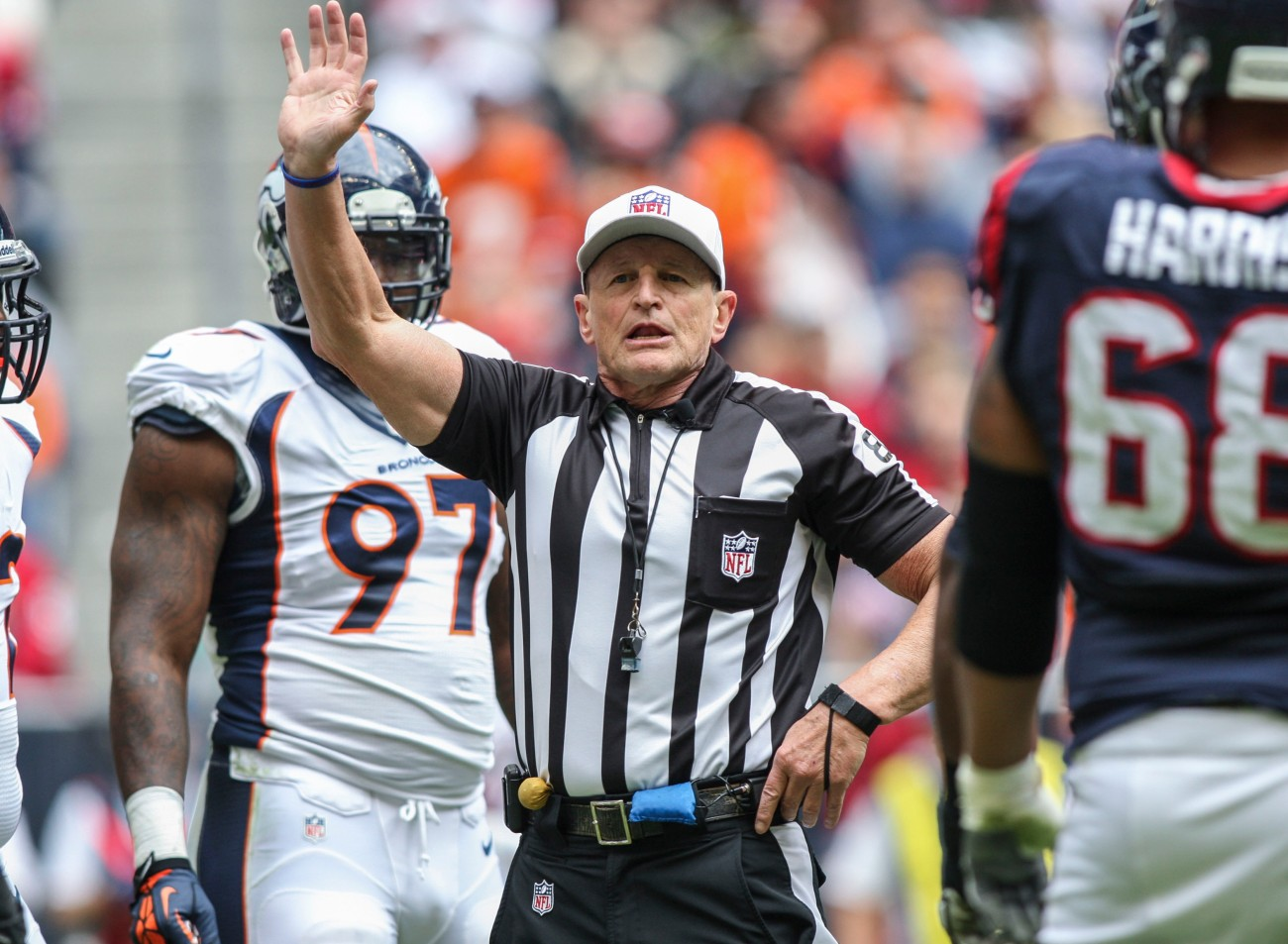 The Patriots Might Be In Trouble On Sunday With Ed Hochuli As
