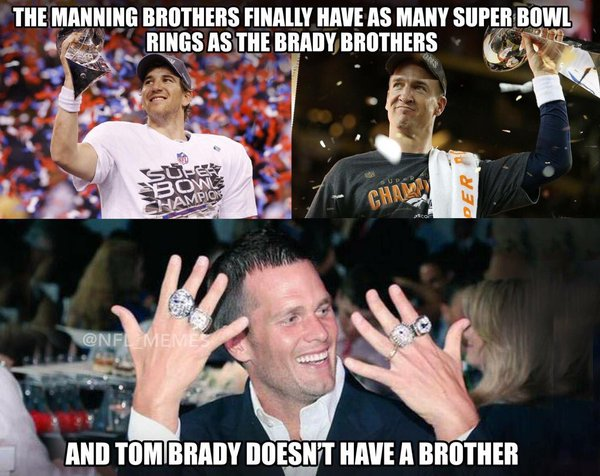 Manning Brothers Rings