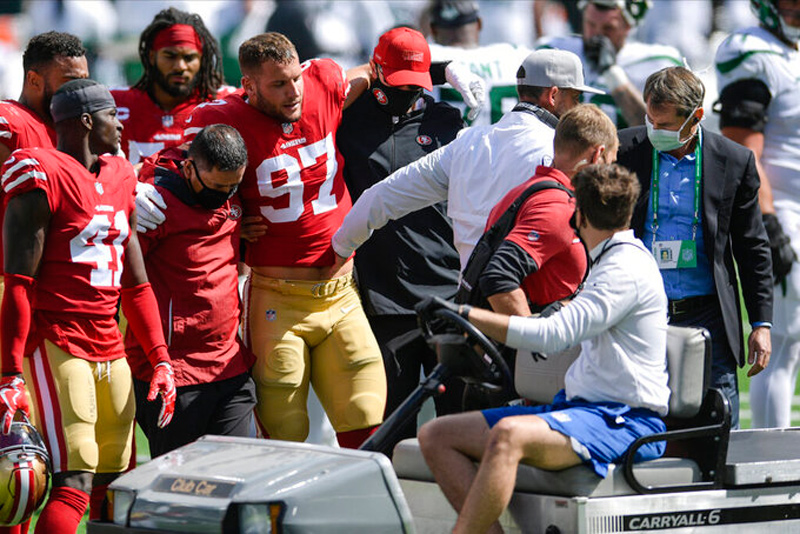 49ers Concerned About MetLife Stadium Turf After Key Injuries In Jets Win